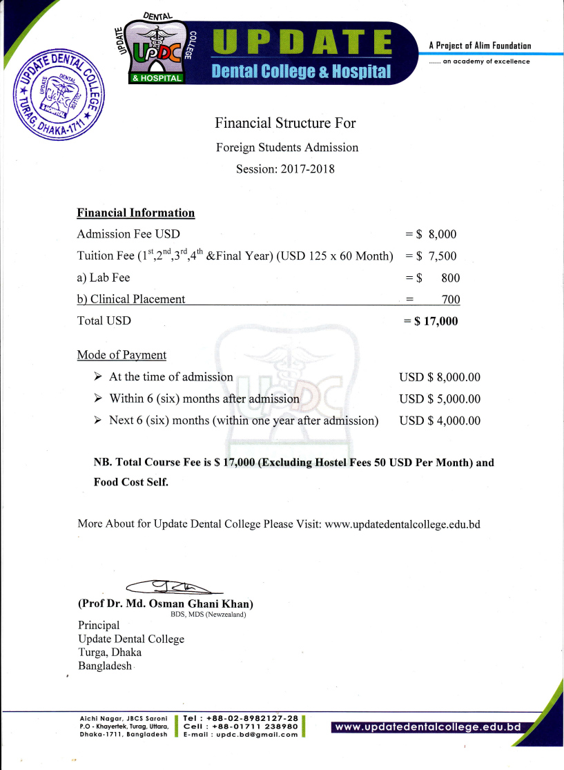 Financial Structure 2017-18