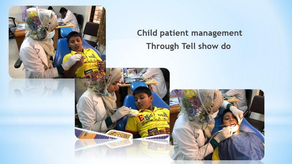 scope of pediatric dentistry